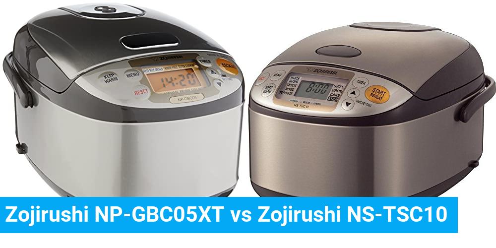 Zojirushi NP-GBC05XT vs Zojirushi NS-TSC10