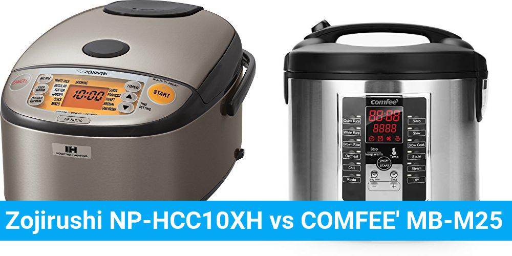 Zojirushi NP-HCC10XH vs COMFEE' MB-M25