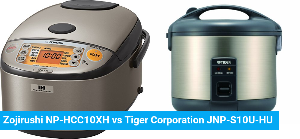 Zojirushi NP-HCC10XH vs Tiger Corporation JNP-S10U-HU