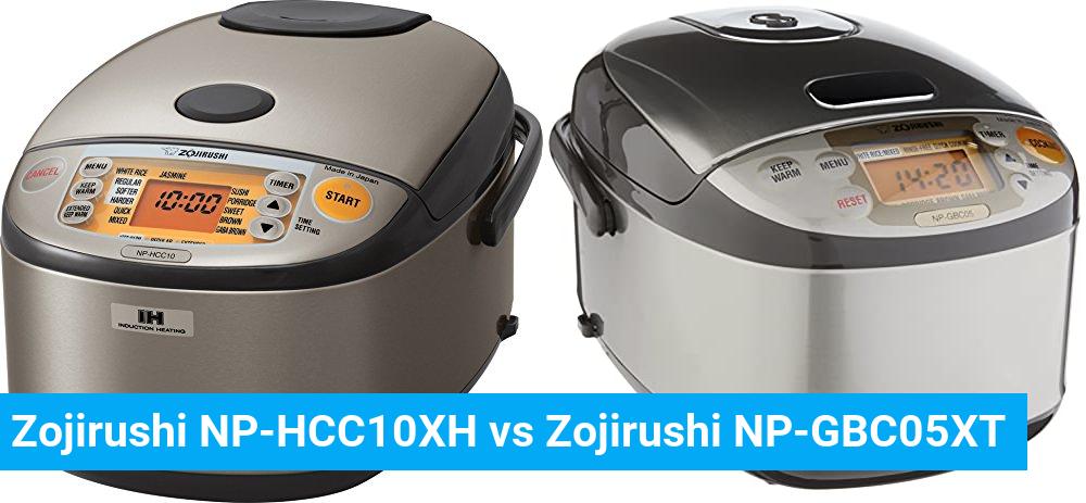 Zojirushi NP-HCC10XH vs Zojirushi NP-GBC05XT