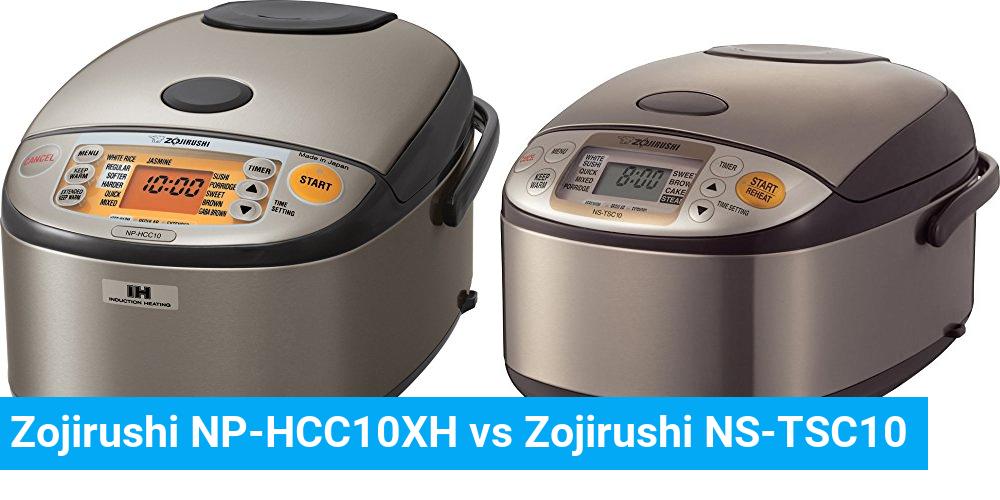 Zojirushi NP-HCC10XH vs Zojirushi NS-TSC10