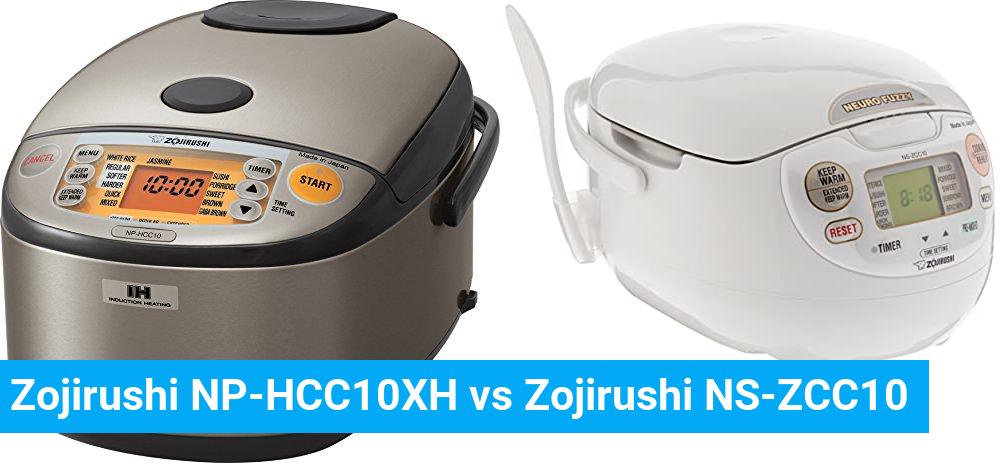 Zojirushi NP-HCC10XH vs Zojirushi NS-ZCC10