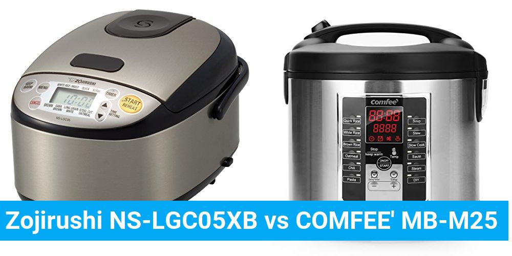 Zojirushi NS-LGC05XB vs COMFEE' MB-M25