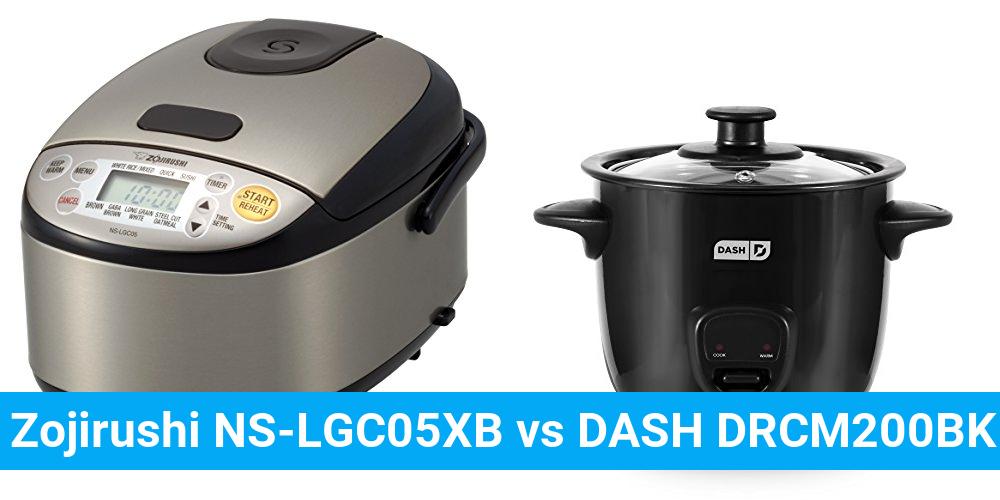 Zojirushi NS-LGC05XB vs DASH DRCM200BK