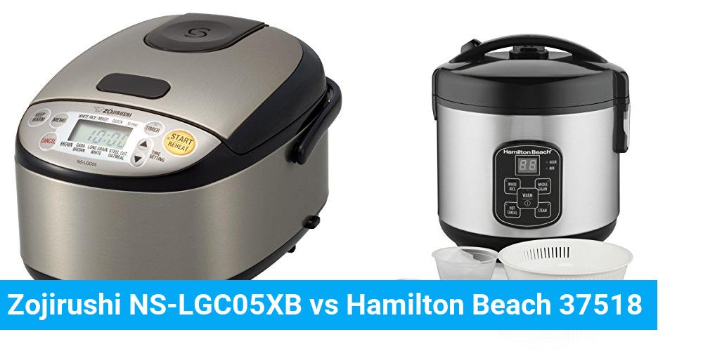 Zojirushi NS-LGC05XB vs Hamilton Beach 37518