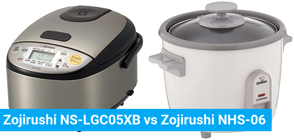 Zojirushi NS-LGC05XB vs Zojirushi NHS-06