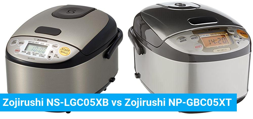 Zojirushi NS-LGC05XB vs Zojirushi NP-GBC05XT