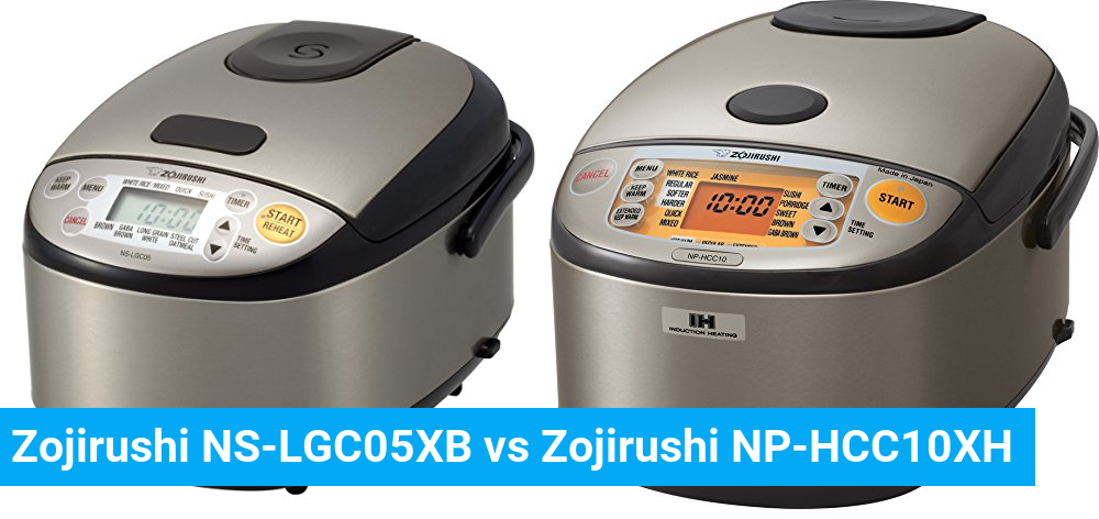 Zojirushi NS-LGC05XB vs Zojirushi NP-HCC10XH