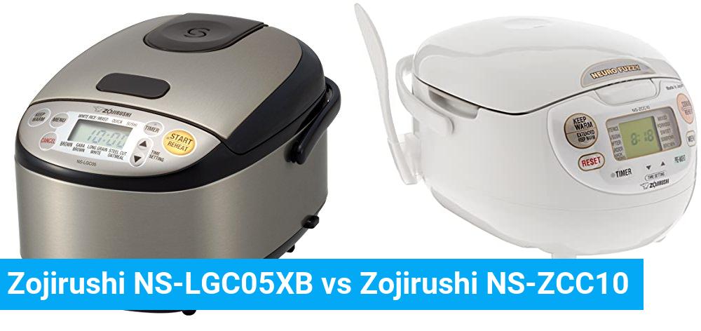 Zojirushi NS-LGC05XB vs Zojirushi NS-ZCC10