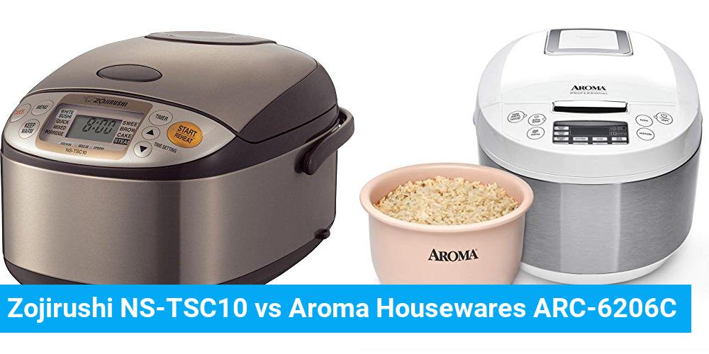 Zojirushi NS-TSC10 vs Aroma Housewares ARC-6206C