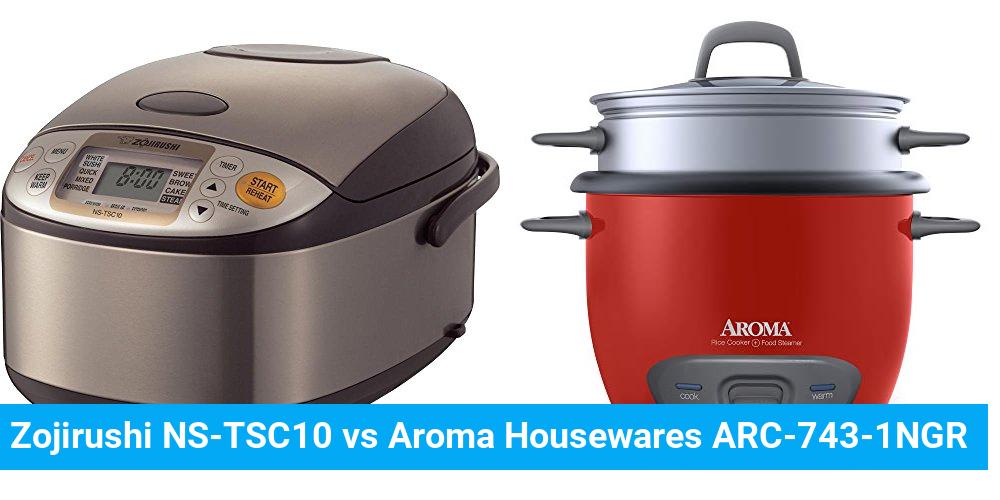 Zojirushi NS-TSC10 vs Aroma Housewares ARC-743-1NGR