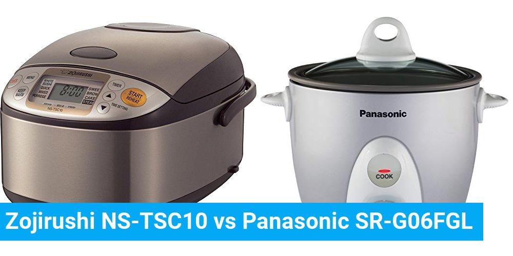 Zojirushi NS-TSC10 vs Panasonic SR-G06FGL