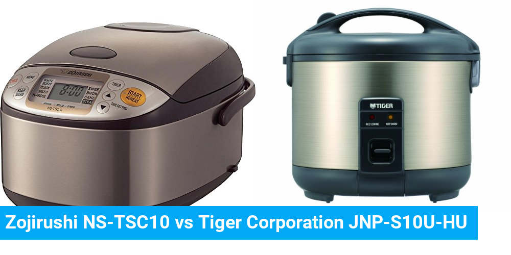 Zojirushi NS-TSC10 vs Tiger Corporation JNP-S10U-HU