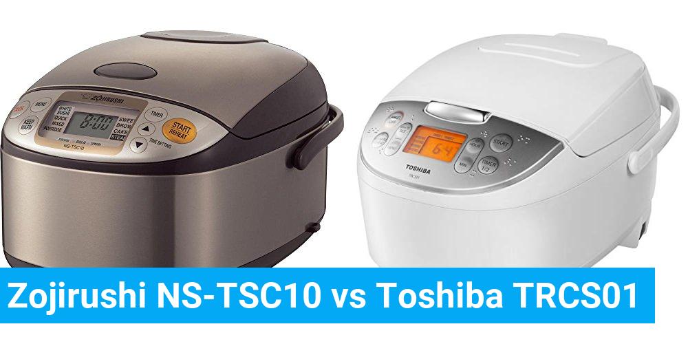 Zojirushi NS-TSC10 vs Toshiba TRCS01