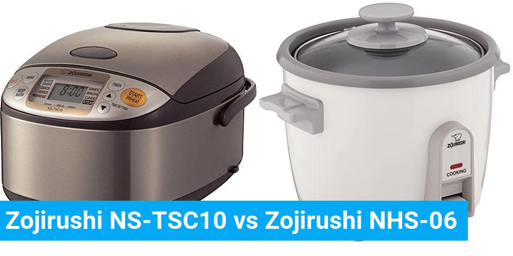 Zojirushi NS-TSC10 vs Zojirushi NHS-06
