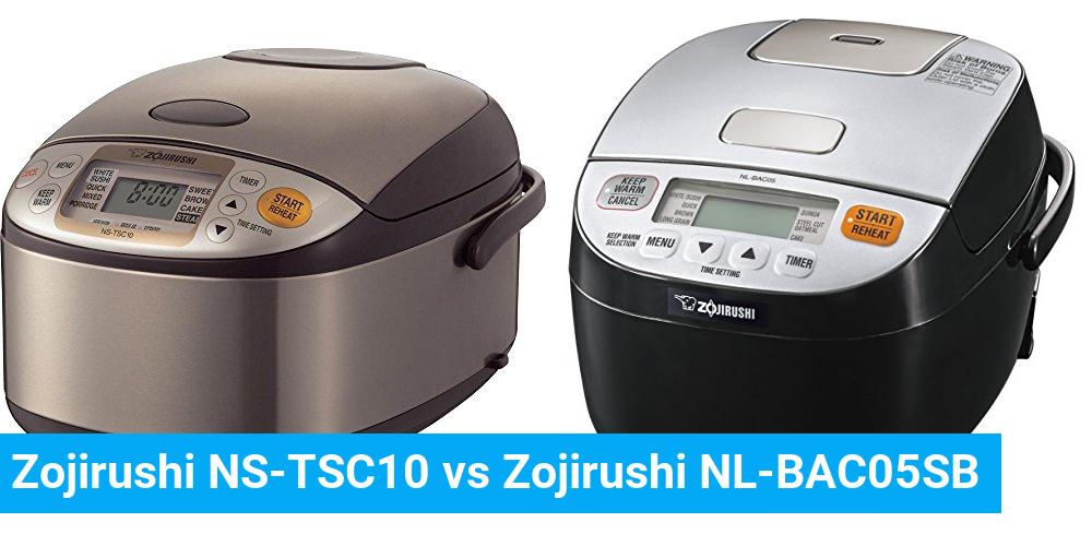Zojirushi NS-TSC10 vs Zojirushi NL-BAC05SB