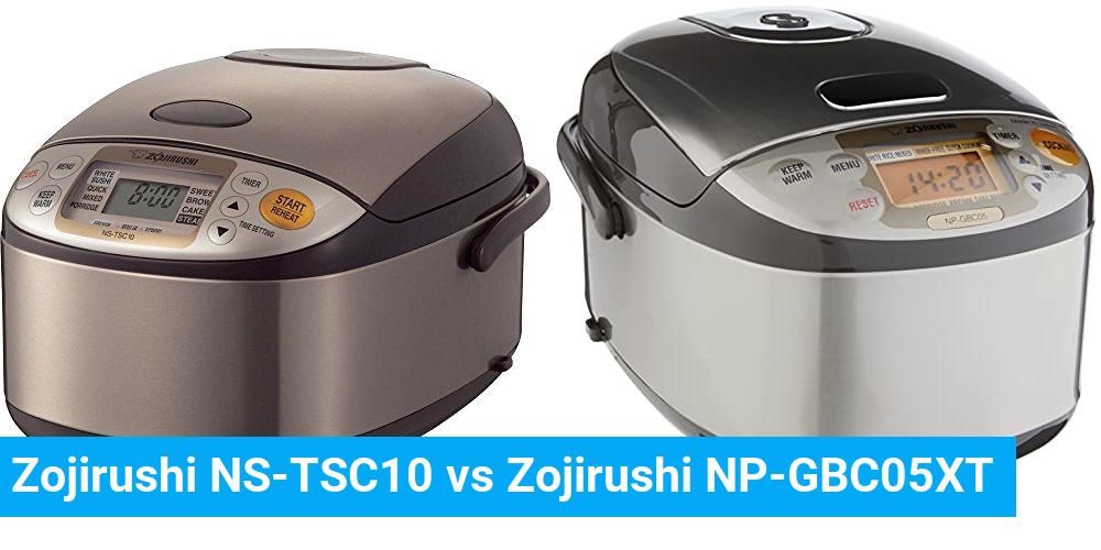 Zojirushi NS-TSC10 vs Zojirushi NP-GBC05XT