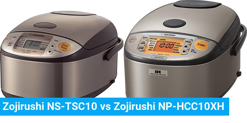 Zojirushi NS-TSC10 vs Zojirushi NP-HCC10XH