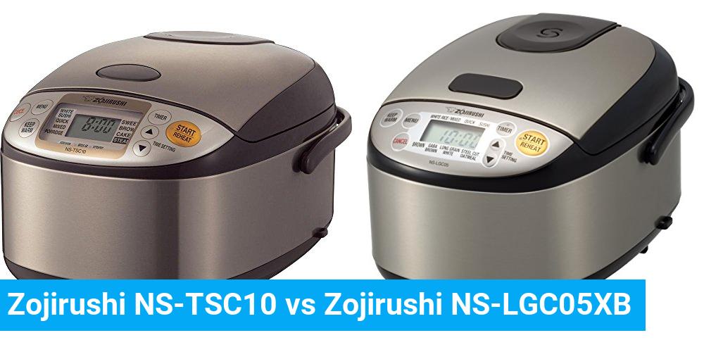 Zojirushi NS-TSC10 vs Zojirushi NS-LGC05XB