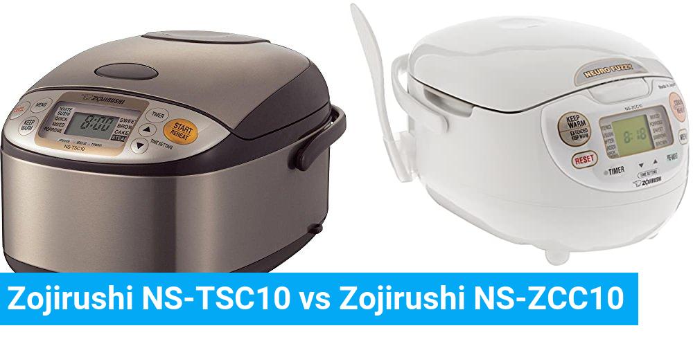 Zojirushi NS-TSC10 vs Zojirushi NS-ZCC10