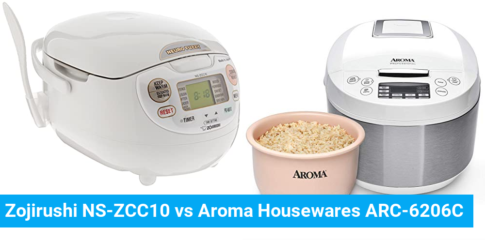 Zojirushi NS-ZCC10 vs Aroma Housewares ARC-6206C