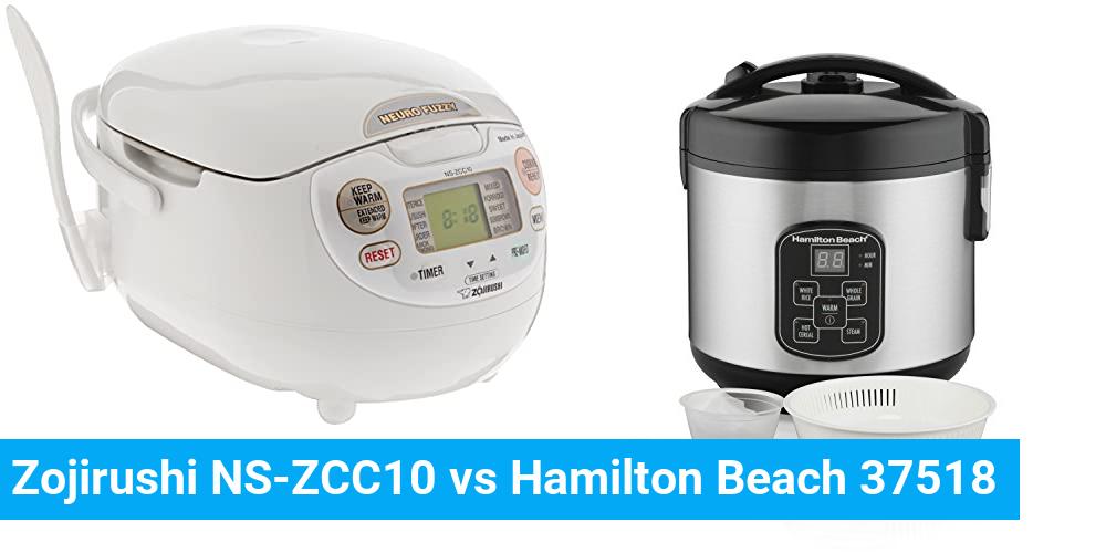 Zojirushi NS-ZCC10 vs Hamilton Beach 37518