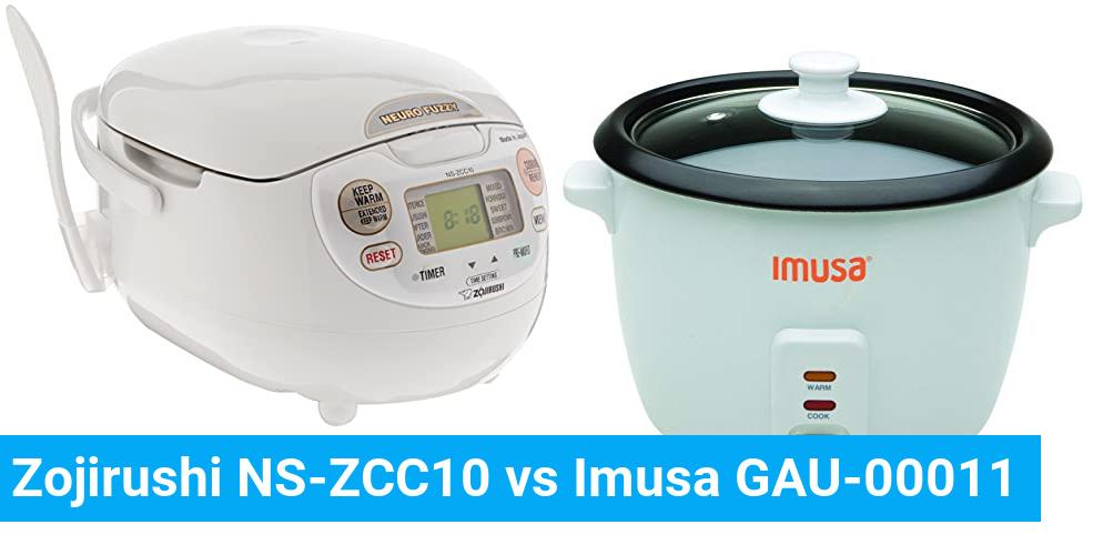 Zojirushi NS-ZCC10 vs Imusa GAU-00011