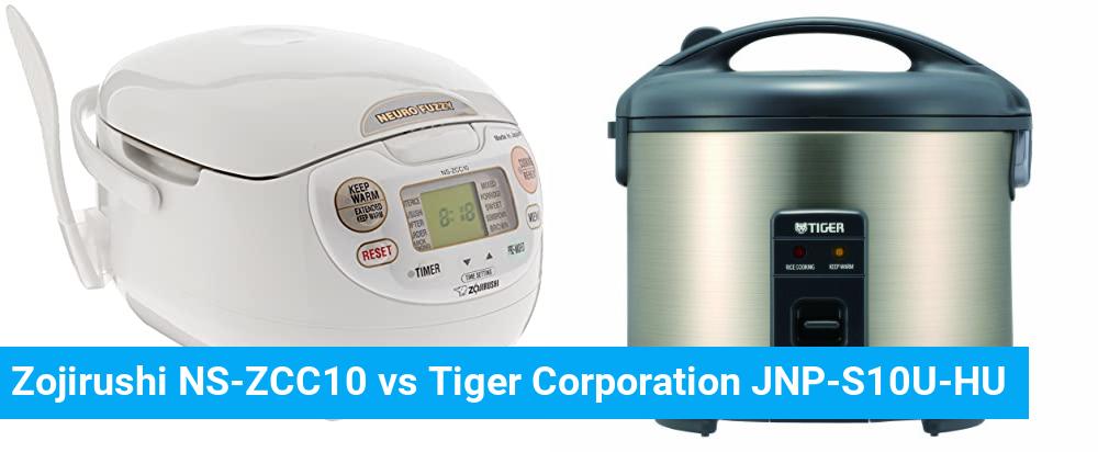 Zojirushi NS-ZCC10 vs Tiger Corporation JNP-S10U-HU