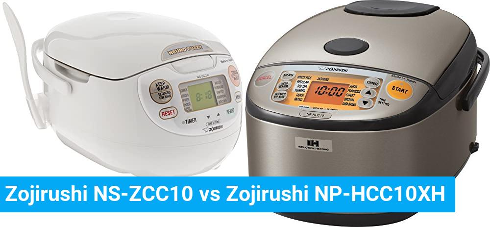 Zojirushi NS-ZCC10 vs Zojirushi NP-HCC10XH