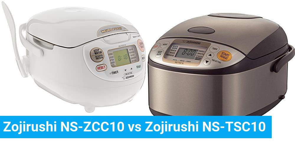 Zojirushi NS-ZCC10 vs Zojirushi NS-TSC10