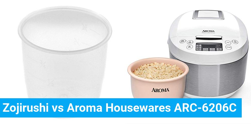 Zojirushi vs Aroma Housewares ARC-6206C
