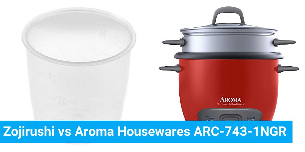 Zojirushi vs Aroma Housewares ARC-743-1NGR
