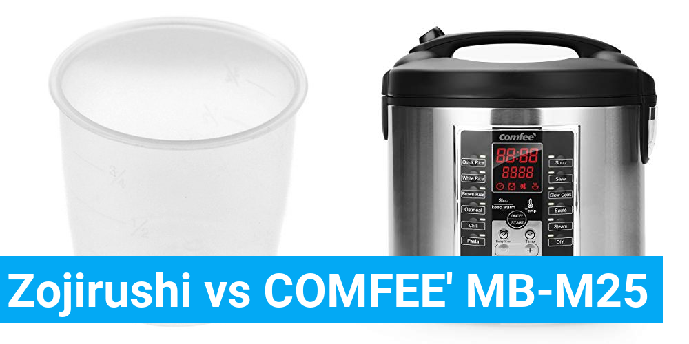 Zojirushi vs COMFEE' MB-M25