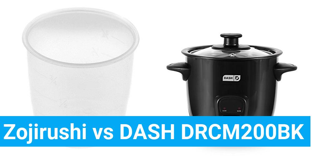 Zojirushi vs DASH DRCM200BK