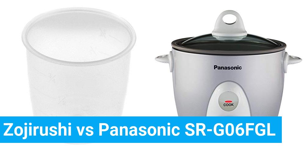 Zojirushi vs Panasonic SR-G06FGL