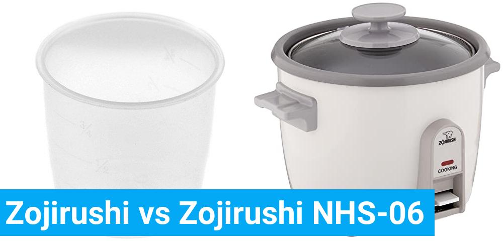 Zojirushi vs Zojirushi NHS-06