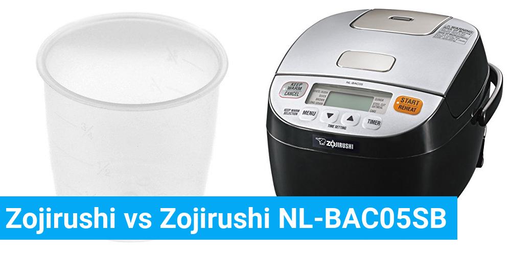 Zojirushi vs Zojirushi NL-BAC05SB