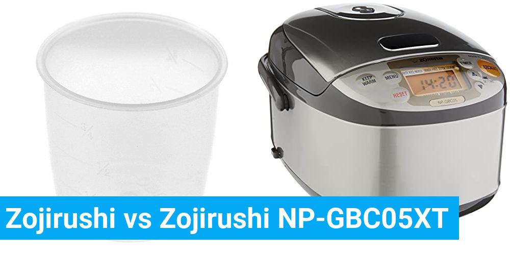Zojirushi vs Zojirushi NP-GBC05XT