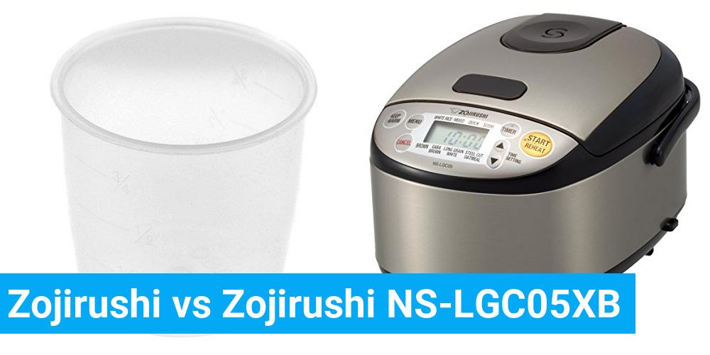 Zojirushi vs Zojirushi NS-LGC05XB
