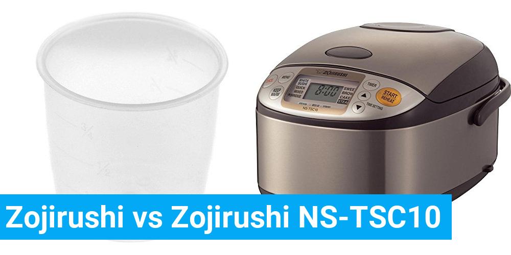 Zojirushi vs Zojirushi NS-TSC10