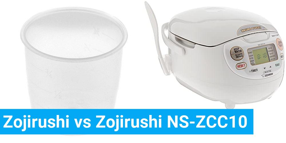 Zojirushi vs Zojirushi NS-ZCC10